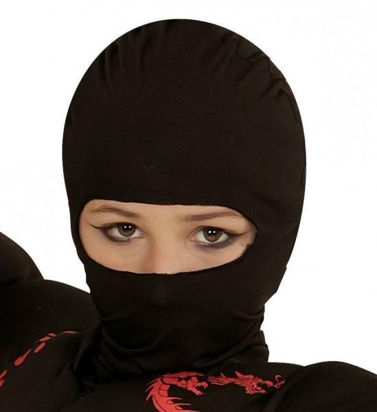 Maske Ninja Kindergröße