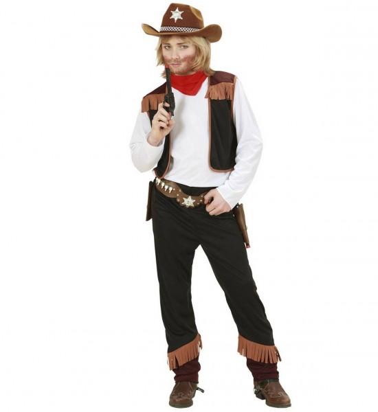 Cowboy ° Hemd mit Weste, Hose, Halstuch
