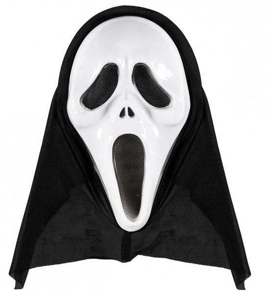 Maske mit Kapuze Screaming Ghost