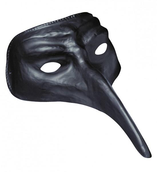 Venezianische Maske ° Schwarz