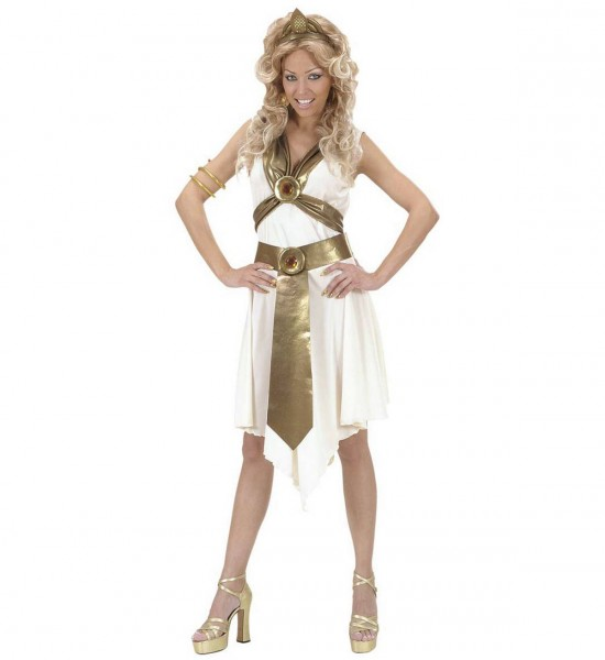 Römische Göttin ° Kleid, Gürtel, Armband, Kopfbedeckung