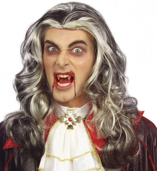Lange Perücke Vampir
