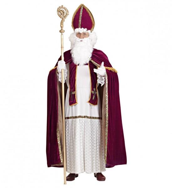 Erzbischof ° Tunica, Gürtel, Stola, Umhang, Bischofsmütze ° OneSize