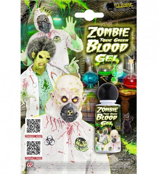 Toxisches Zombieblut Gel ° Grün ° 48 ml