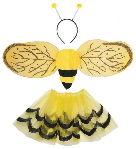 Biene Dress Up Set ° Tutu, Flügel, Antennen