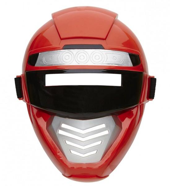 Power Robot Maske Kindergröße ° Rot