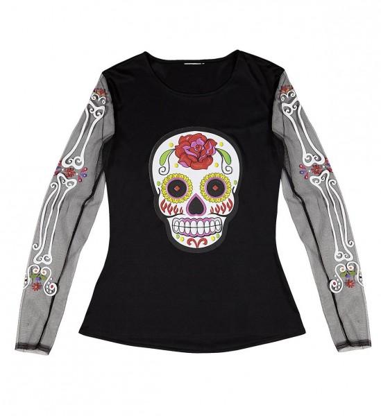 Shirt Dia De Los Muertos ° M/L