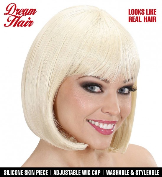 Pagenkopf Perücke Jolie ° Blond
