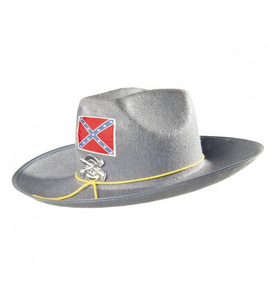 Konföderierter Soldat Hut mit Wappen