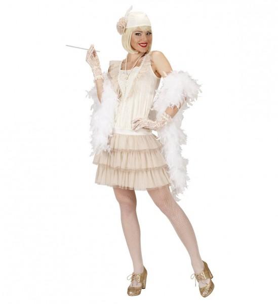 20er Jahre Roaring Charleston ° Kleid, Hut, Handschuhe, Zigarettenhalter