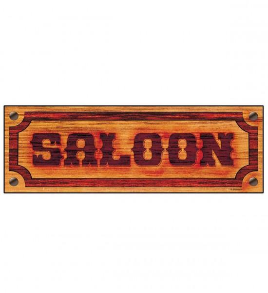 Saloon Schild ° 78x26 cm