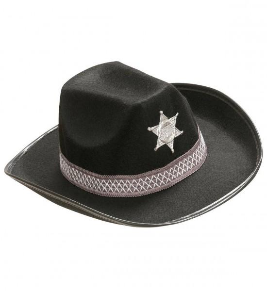 Sheriff Hut ° Schwarz