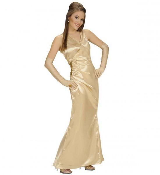 Starlett ° Kleid, Handschuhe ° Gold