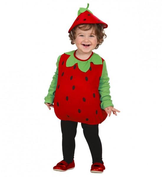 Puffy Strawberry ° Kostüm, Kopfbedeckung ° 104